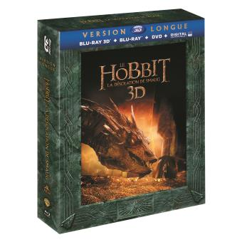 Bilbo le HobbitLe Hobbit : la désolation de Smaug - version longue - Blu-ray 3D / Blu-ray / DVD / DIGITAL