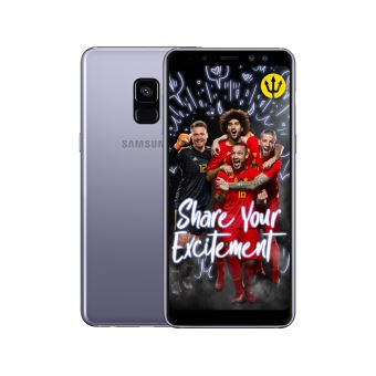 Samsung Galaxy A8 Grijs + Red Devils Back Cover