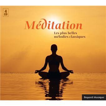 Méditation Les plus belles mélodies classiques Coffret