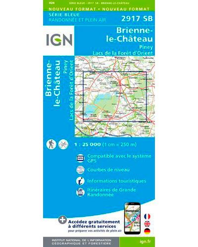 Brienne le Château - Piney - Lacs de la forêt d'Orient