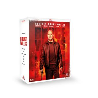 Coffret Bruce Willis 4 films Blu-ray