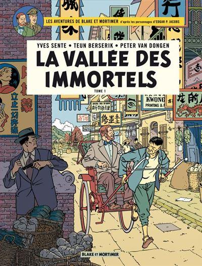 Blake & Mortimer - Tome 25 - La vallée des immortels - 9782505076209 - 9,99 €