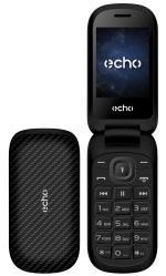 ECHO Téléphone mobile Echo Clap Plus 2 Double SIM Noir