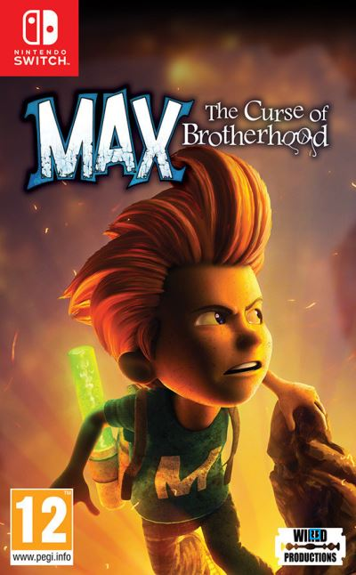 Max The Curse of The Brotherhood Nintendo Switch