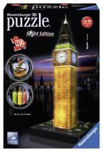 Puzzle 3D 216 Pièces Big Ben Ravensburger Night Edition