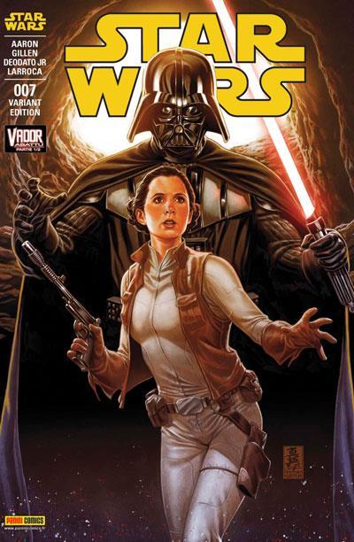 Star Wars - Couverture par Marc Brooks Tome 7 : Vador abattu