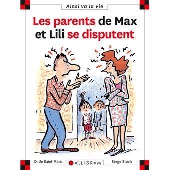 Max et LiliLes parents de Max et Lili se disputent