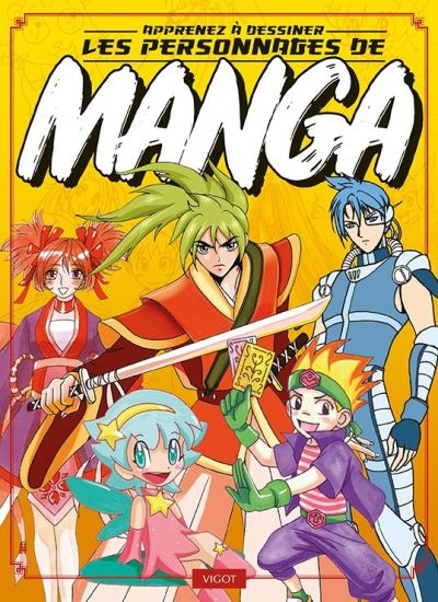 Apprenez à dessiner les personnages de mangas
