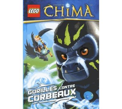 Lego Legends of Chima - Tome 3 : Lego Chima 3 Corbeaux et gorilles