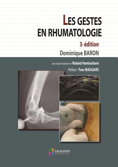 Les gestes en rhumatologie 3ed