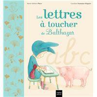 Les lettres à toucher de Balthazar - Pédagogie Montessori