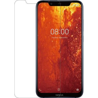 Azuri Tempered Glass Rinox Armor Nokia 8.1 2018 Transparent
