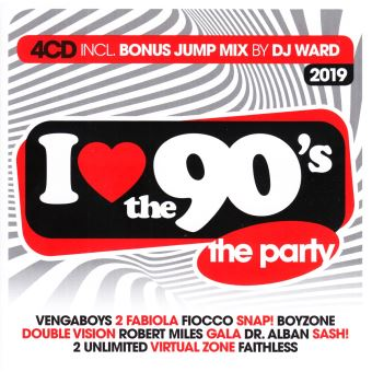 I LOVE THE 90 (2019)/4CD