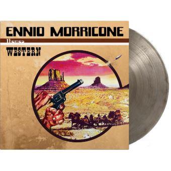 Western Edition Limitée Vinyle Transparent Noir Marbré