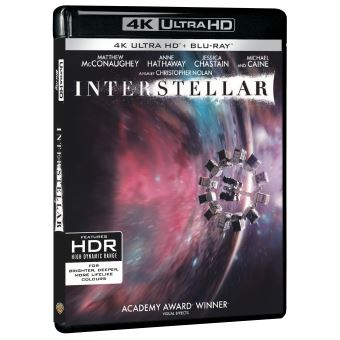 Interstellar Blu-ray 4K Ultra HD
