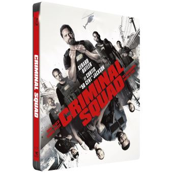 Criminal Squad Edition Collector Steelbook Blu-ray