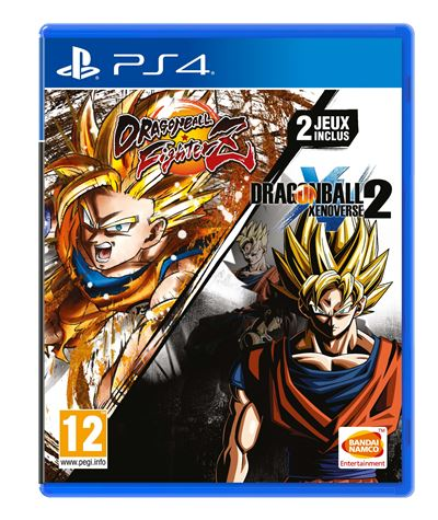 Dragon Ball Xenoverse 2 + Dragon Ball FighterZ PS4