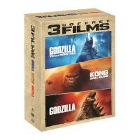 Coffret Godzilla, Godzilla 2, roi des monstres et Kong : Skull Island DVD