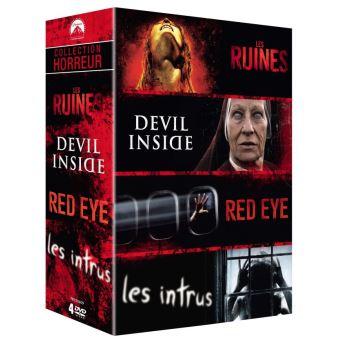 Coffret Horreur 4 Films DVD