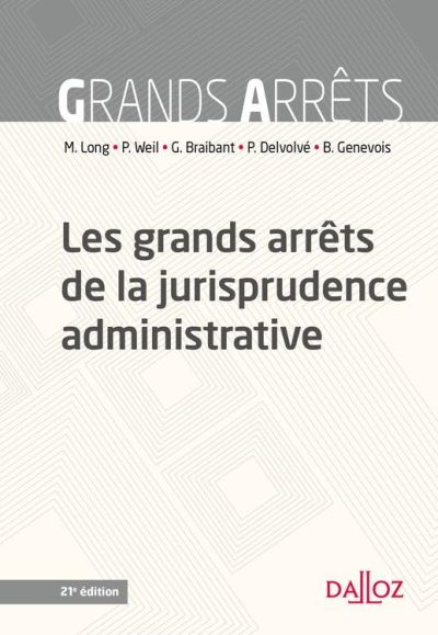 Les grands arrêts de la jurisprudence administrative - 9782247175307 - 27,99 €