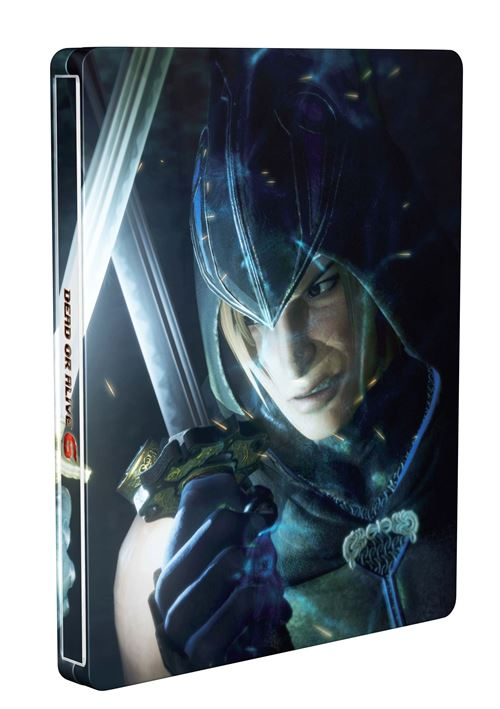 Steelbook Dead or Alive PS4