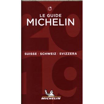 Le Guide MICHELIN Suisse 2019