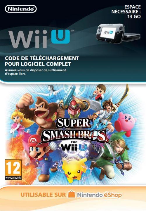 Code de téléchargement Super Smash Bros. Nintendo Wii U