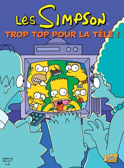 Les Simpson - tome 14 Trop top pour la télé !