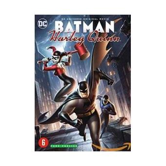 Batman animated seriesBatman and Harley Quinn DVD