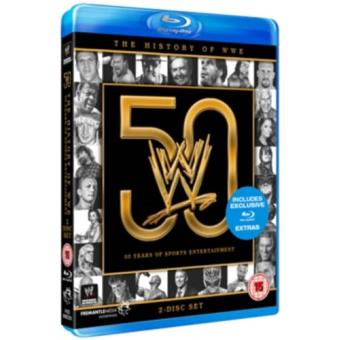 WWE 50 Years of Sports Blu-ray