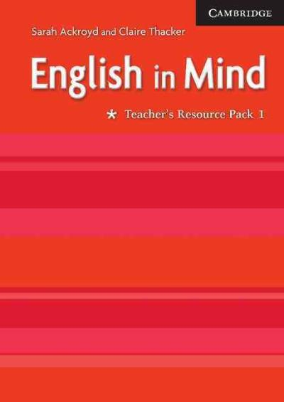 english in mind level 1 teacher resource pack