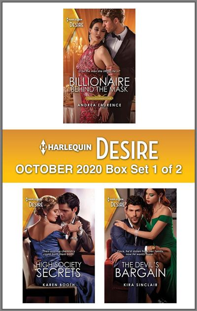 Harlequin Desire October 2020 - Box Set 1 of 2