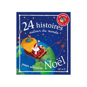 24 histoires autour du monde pour attendre noel (+cartes de voeux)