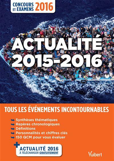 Guides actualité concours examens 2015 2016