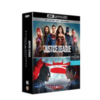 Coffret Justice League Batman V Superman L'aube de la justice Blu-ray 4K
