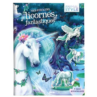 Animal StyleMes stickers Licornes fantastiques