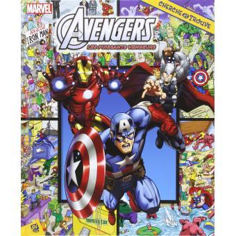 Avengers Cherche Et Trouve Marvel Avengers
