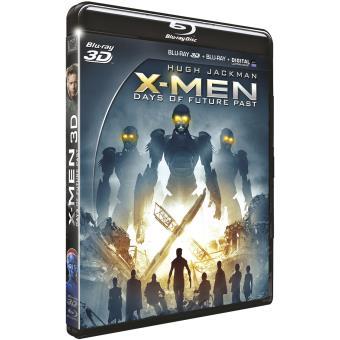 X-MenX-Men Days of Future Past Combo Blu-ray 3D + 2D + DVD