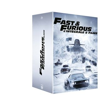 fast and furious fast and furious 1 8 coffret dvd coffret dvd dvd zone 2 f gary gray. Black Bedroom Furniture Sets. Home Design Ideas