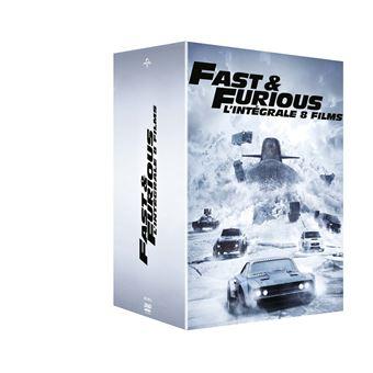 Fast And FuriousCoffret Fast and Furious 1 à 8 DVD