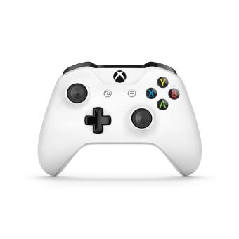 microsoft manette xbox one sans fil blanc accessoire console de jeux la fnac. Black Bedroom Furniture Sets. Home Design Ideas