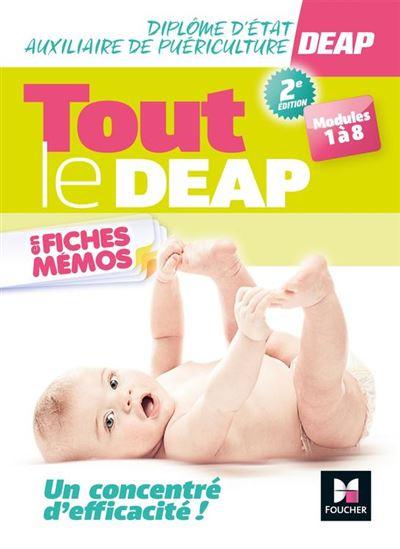 Tout le DEAP en fiches mémos - Diplôme Etat Auxiliaire de Puériculture - Révision - 9782216151936 - 10,99 €