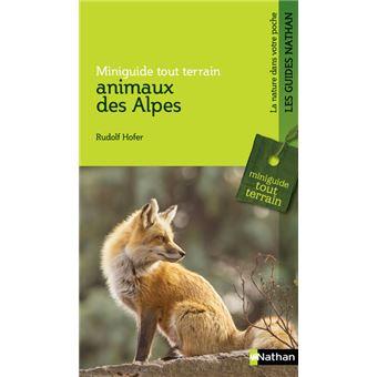 Miniguide tout terrain - animaux des Alpes