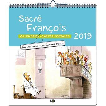 Achat Calendrier 2019.Calendrier 2019 Sacre Francois