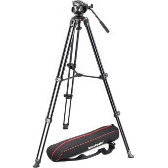 Manfrotto Kit Video MVK500AM Tripod + Ball Head 6 + Opbergtas