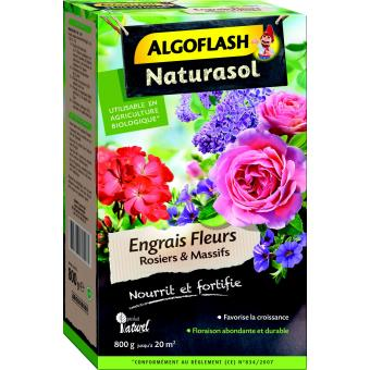 engrais fleurs rosiers et massifs algoflash naturasol 800 g soin des plantes achat prix fnac. Black Bedroom Furniture Sets. Home Design Ideas