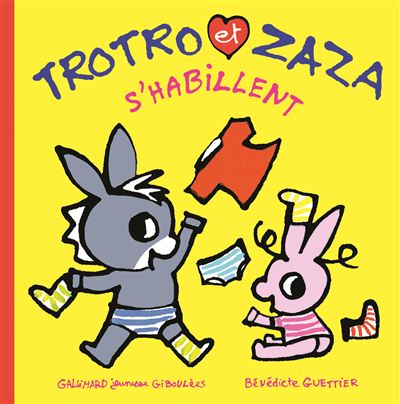 Trotro et Zaza s'habillent