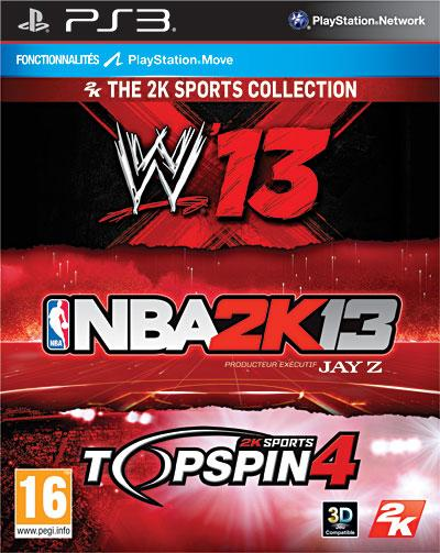 Triple Pack 2K Sport PS3 - PlayStation 3