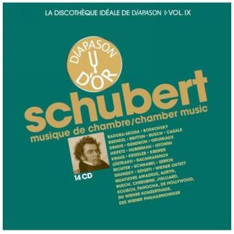 Discothèque idéale de diapason Volume 9 Schubert : Musique de chambre