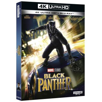 Black PantherBlack Panther Blu-ray 4K Ultra HD